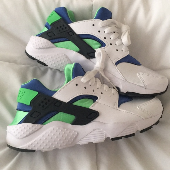 Nike Shoes Air Huarache Run Scream Green Gs 6 Youth Poshmark